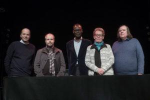 Jean-Dominique Humbert, Ferenc Rakoczy, Nimrod, Catherine Dubuis et Jean-Pierre Vallotton