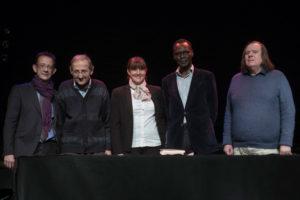 Olivier Engler, Pierre Girardet, Stéphanie Khauv, Nimrod et Jean-Pierre Vallotton